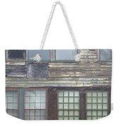 Vintage Warehouse Building Weekender Tote Bag