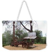 Vintage Well Driller 1 Weekender Tote Bag