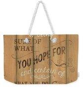 Vintage Wtlb Faith Weekender Tote Bag