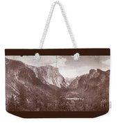 Vintage Yosemite Valley 1899 Weekender Tote Bag