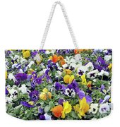 Viola In The Spring Are Especially Beautiful. Weekender Tote Bag
