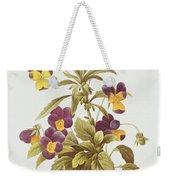 Viola Tricolour  Weekender Tote Bag