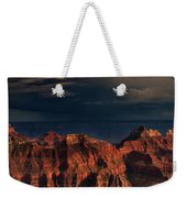 Violent Storm Over The North Rim Grand Canyon National Park Arizona Weekender Tote Bag