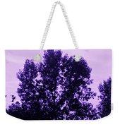 Violet And Black Trees  Weekender Tote Bag