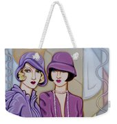 Violet And Rose Weekender Tote Bag