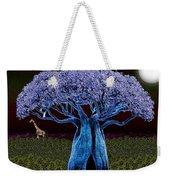 Violet Blue Baobab Weekender Tote Bag