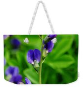 Violet Blue Weekender Tote Bag