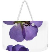Violet Cranesbill Weekender Tote Bag