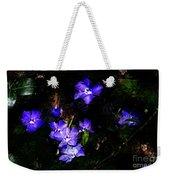 Violet Weekender Tote Bag