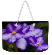 Violet Dreams Weekender Tote Bag