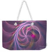 Violet Dreamy Feel Weekender Tote Bag