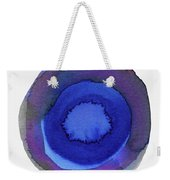 Violet Drops 1- Art By Linda Woods Weekender Tote Bag