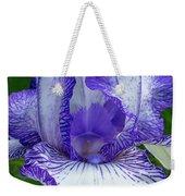Violet Iris Weekender Tote Bag