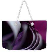 Violet Petals Weekender Tote Bag