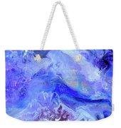 Violet Storm Weekender Tote Bag