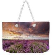Violet Sunrise Weekender Tote Bag