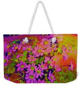 Violets Among The Heather Weekender Tote Bag