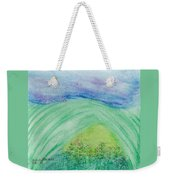 Violets In The Summertime Weekender Tote Bag