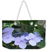 Violets O The Green Weekender Tote Bag
