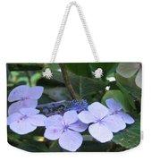 Violets O The Green Weekender Tote Bag