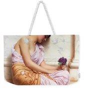 Violets Sweet Violets Weekender Tote Bag
