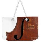 Violin Clef Weekender Tote Bag
