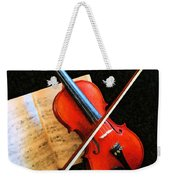 Violin Impression Weekender Tote Bag
