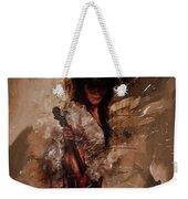 Violin Lady  Weekender Tote Bag