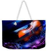 Violin On Piano Weekender Tote Bag