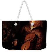 Violin Player 1653 Weekender Tote Bag