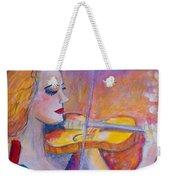Violin Player Weekender Tote Bag