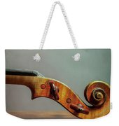 Violin Scroll Weekender Tote Bag