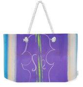 Violin Vase Weekender Tote Bag