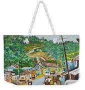 Virajpet Town Weekender Tote Bag