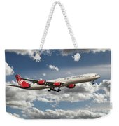 Virgin Airbus A340 G-vgas Weekender Tote Bag