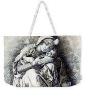 Virgin And Child Madonna Of Humility 1490 Weekender Tote Bag
