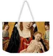 Virgin And Child With Two Angels Weekender Tote Bag