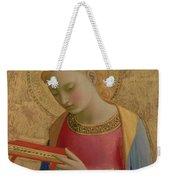 Virgin Annunciate Weekender Tote Bag
