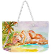 Virgin Cove Weekender Tote Bag