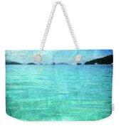 Virgin Islands Blues Weekender Tote Bag