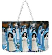 Virgin Mary Figurines Weekender Tote Bag