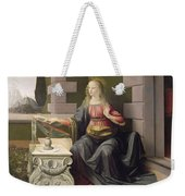 Virgin Mary, From The Annunciation Weekender Tote Bag