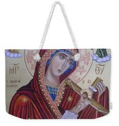 Virgin Mary Of Death Weekender Tote Bag