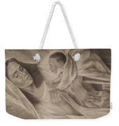 Virgin Maryan Jesus Weekender Tote Bag