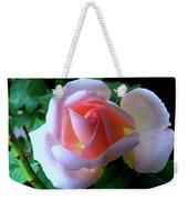 Virgin Pink Rose With Thorns Weekender Tote Bag