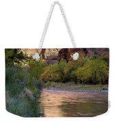 Virgin River Reflection Weekender Tote Bag