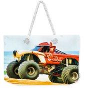 Virginia Beach Monster Truck Rally Weekender Tote Bag