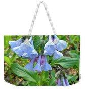 Virginia Bluebells - Mertensia Virginica Weekender Tote Bag
