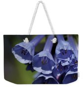 Virginia Bluebells Weekender Tote Bag