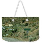 Virginia City Named After Henry Comstock Weekender Tote Bag